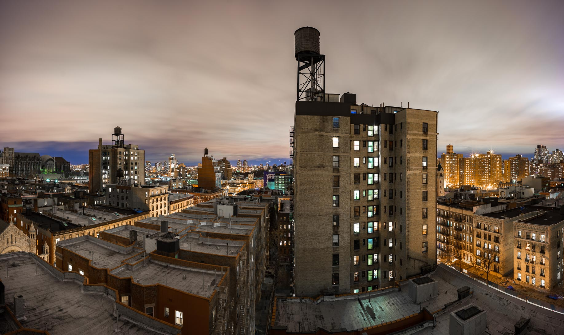 112th to 96th Street Panorama