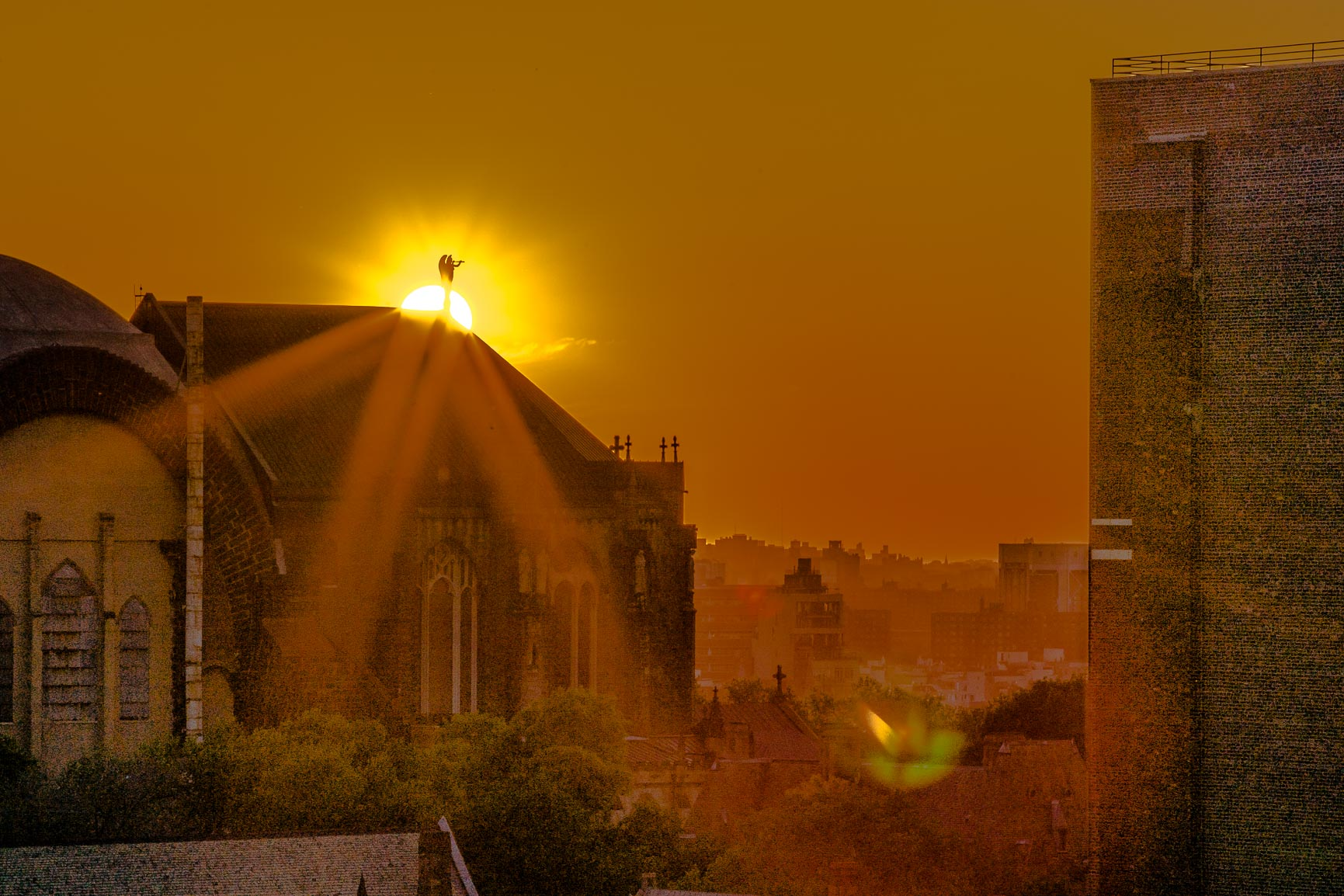 Cathedralhenge with Diffraction