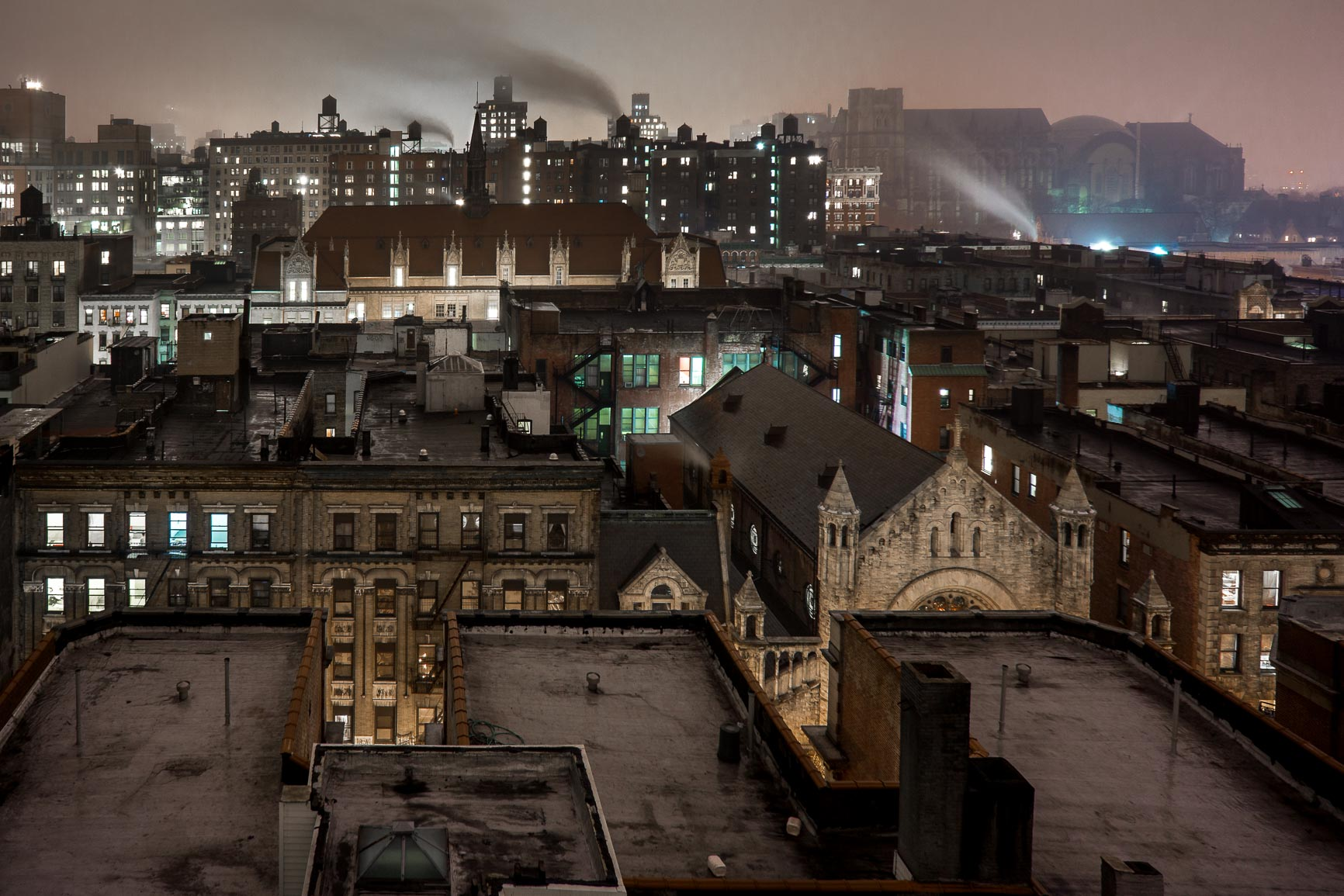 Misty Gotham Night